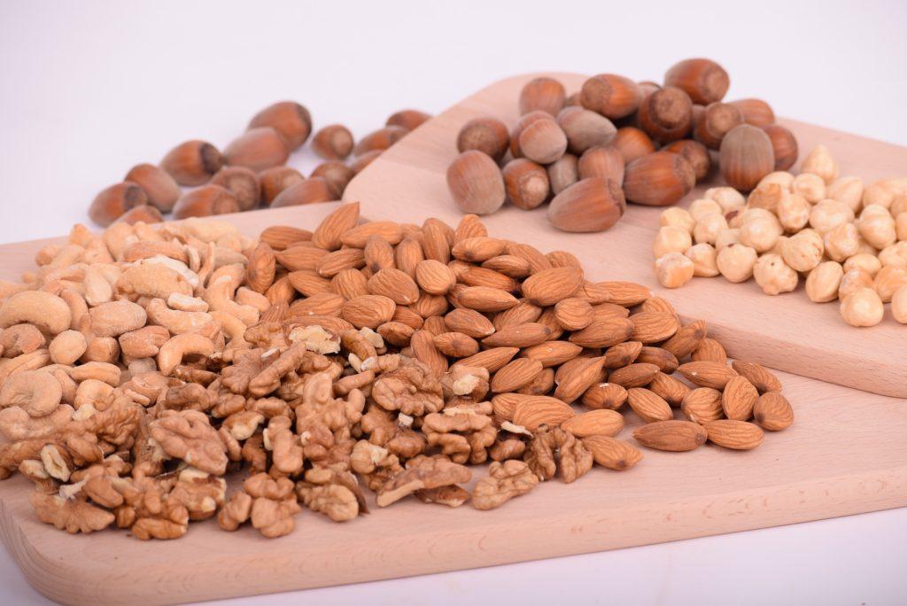 オメガ3脂肪酸が豊富なナッツ