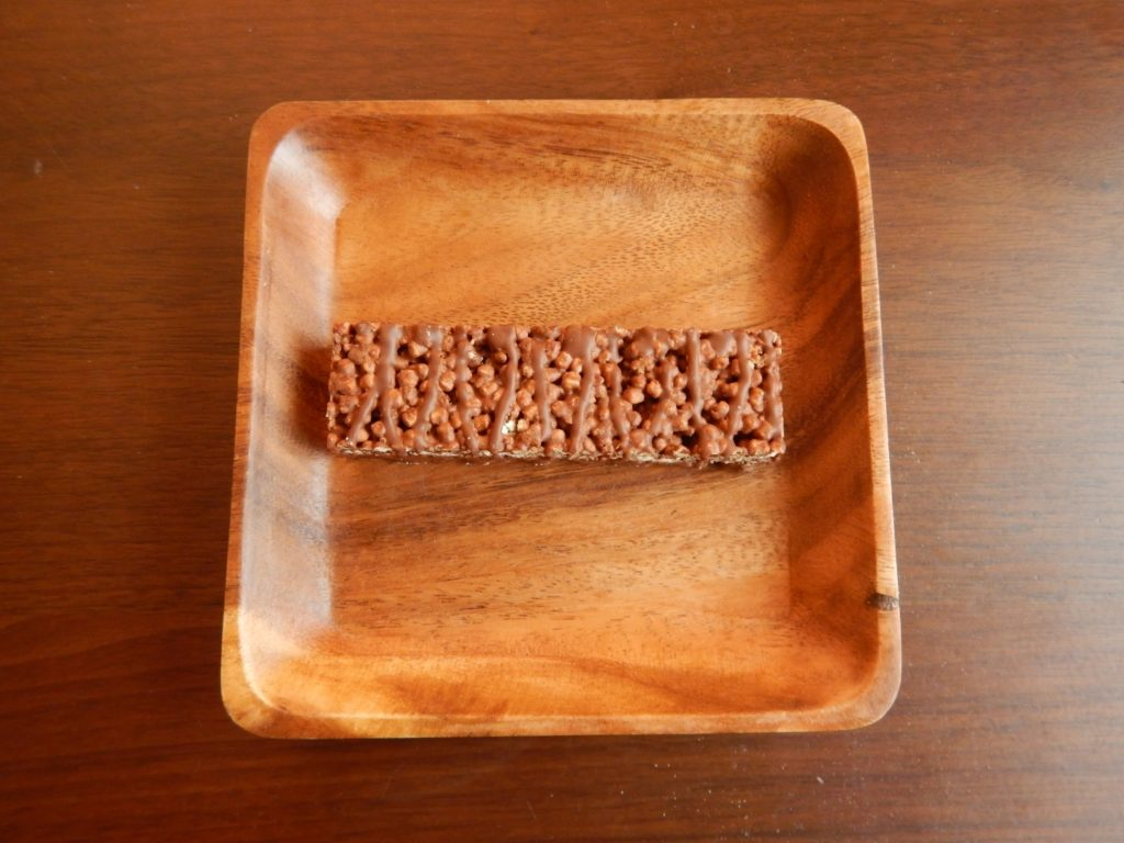 BSNシンサのプロテインクリスプバーチョコレートクランチ味