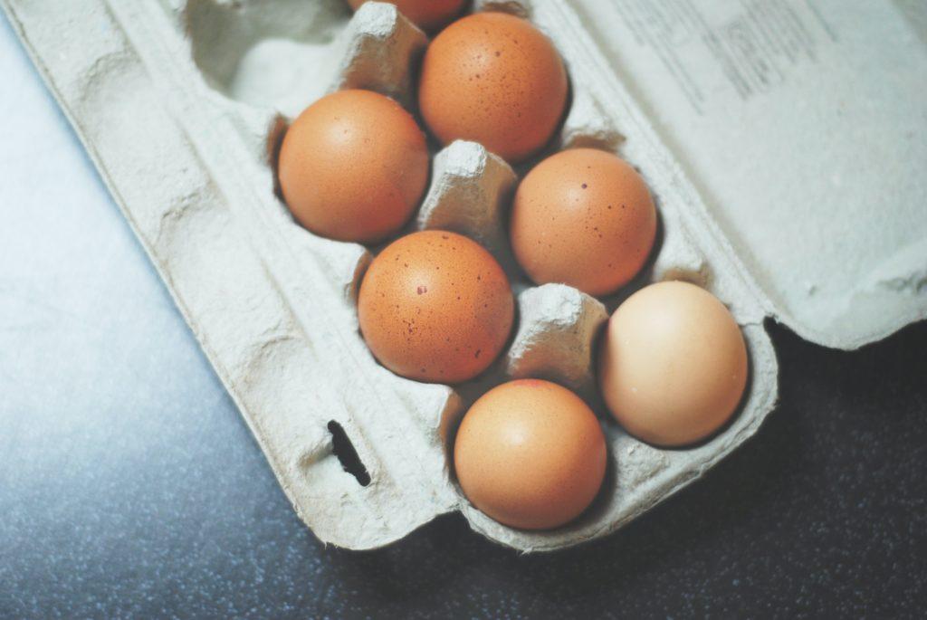 増量期間中は完全栄養食の卵